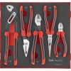 Teng 5pc MB TPR Grip Plier Set - TTD-Tray