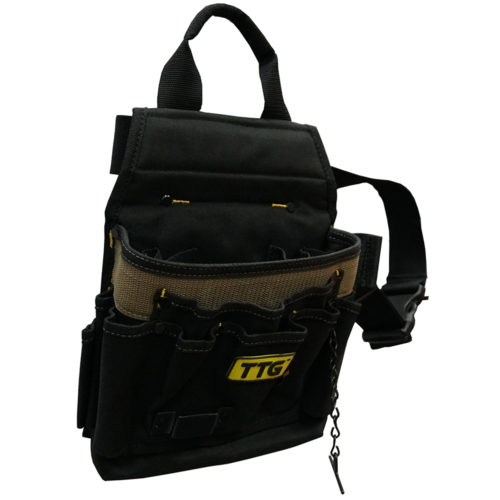 TTG Electricians Tool Pouch w/Belt