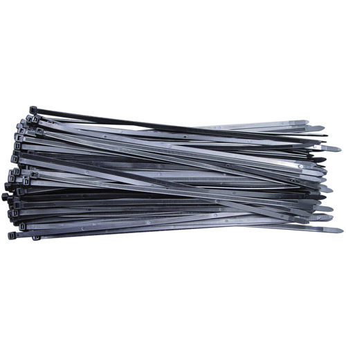CV300SW Cable Tie 300 x 4.8mm Black Pack of 100