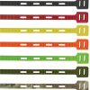 """One Tie - Reusable Tie Strap - Red 8"""" - 6 pack"""