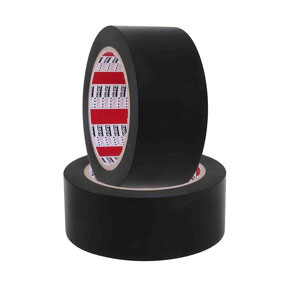 HEAVY DUTY PVC FLOOR MARKING TAPE 48MM X 30M-BLACK