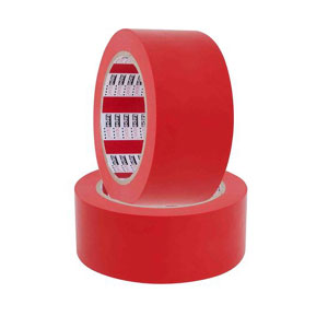 NZ Tape Heavy Duty Pvc Floor Marking Tape 48mm x 30m - Red