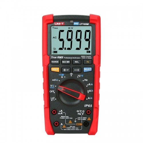 Uni-T UT195M Industrial Drop-Proof True RMS Multimeter
