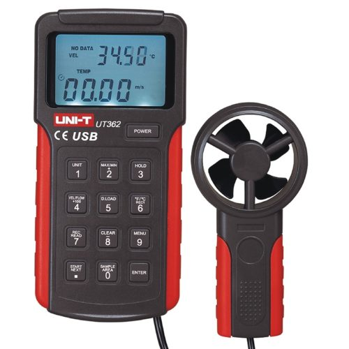 Uni-T UT362 Professional Anemometer Wind Speed Meter