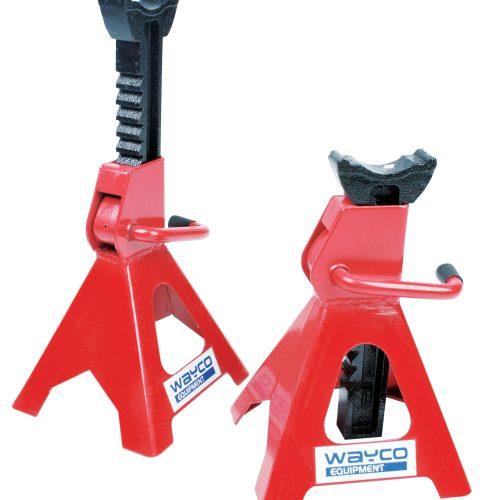 Axle Stand (1Pr) 2.4 Ton Min HT 295mm / Max HT 425mm