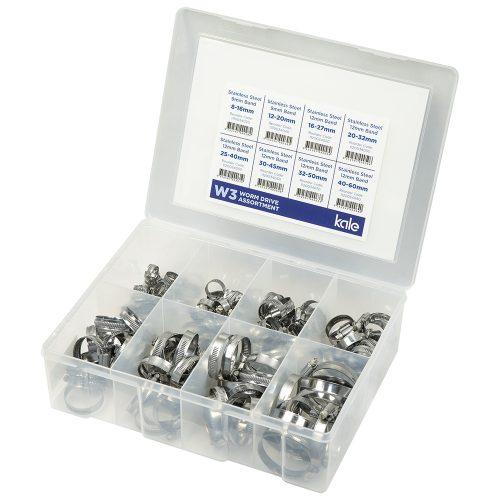 Kale 135pc Grab Kit Assortment WD 9/12mm W3