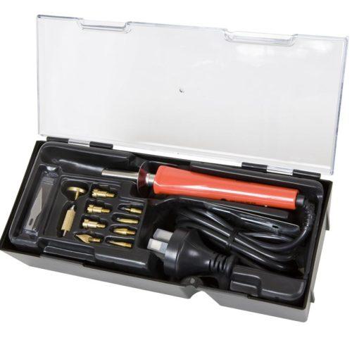 Weller Iron Woodburning & Hobby Kit 15Pc