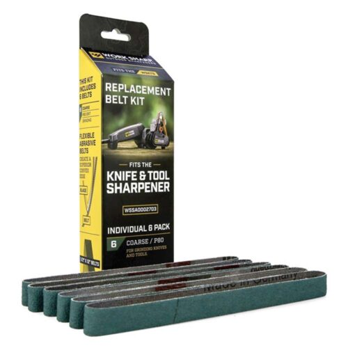 WS 6pc Replacement Belt Pack 80 Grit For WSKTS (Green)