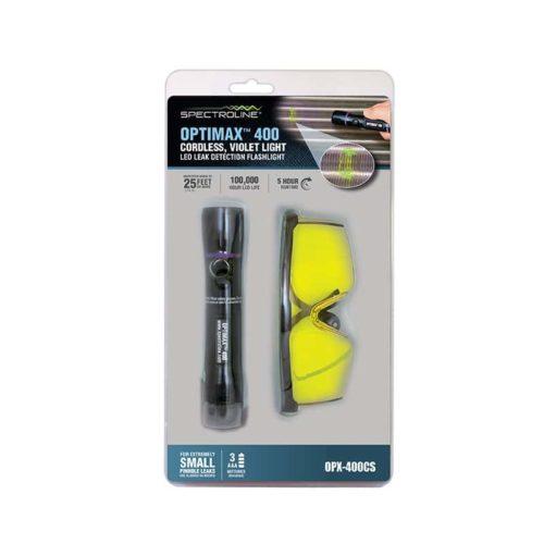 Spectroline Optimax™ 400  UV Flashlight & GLasses